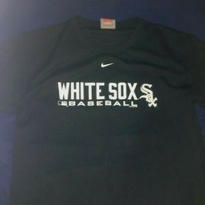 NIKE White Sox Baseball Dri Fit Shirt